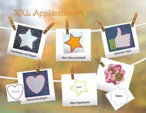 XXL Applikationen-Set 1