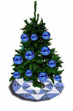 Christbaum-Schürze - Tree Skirt