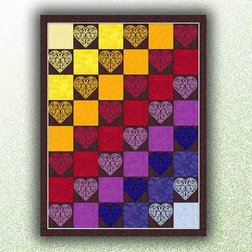 Fashion Hearts Quilt