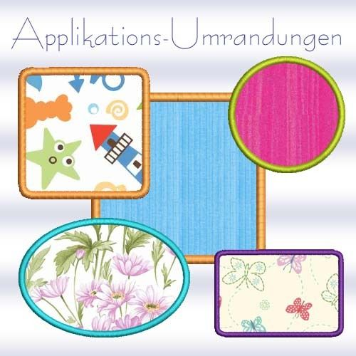 Free Applikations-Umrandungen