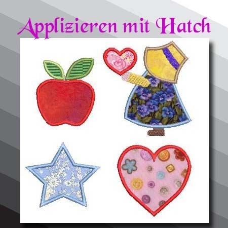 Wilcom Hatch Applikationen