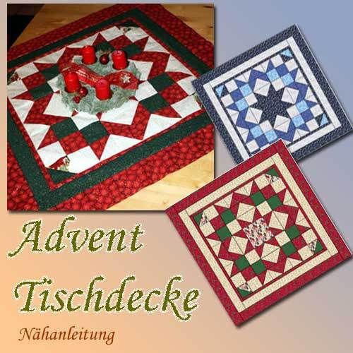 Advent Tischdecke