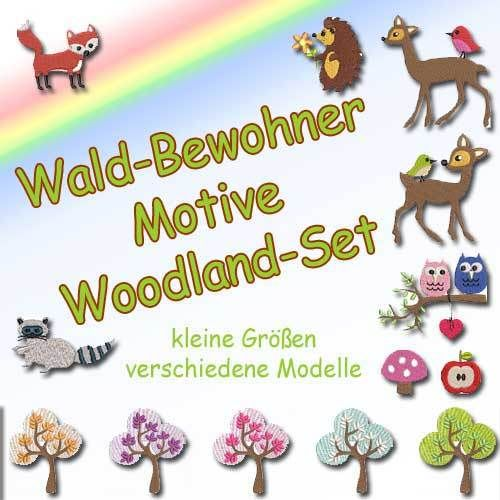 Waldbewohner Woodland-Set